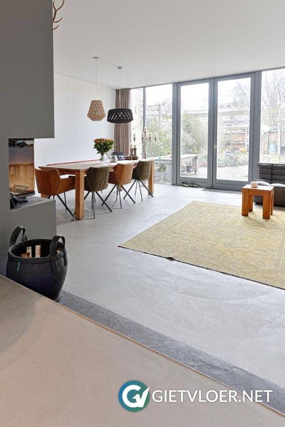 beton in huis